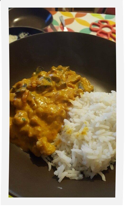 Curry d'Aubergine...un délice!