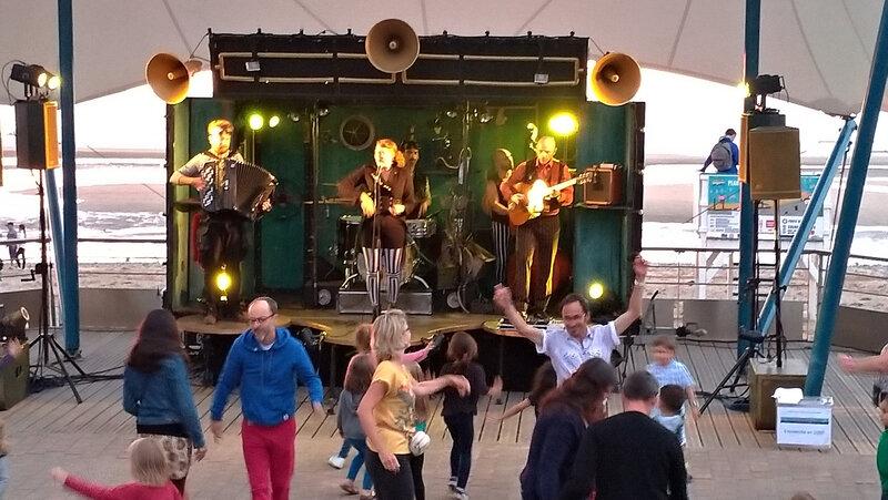 concert du Balluche sound system à Villers-sur-Mer (Calvados)