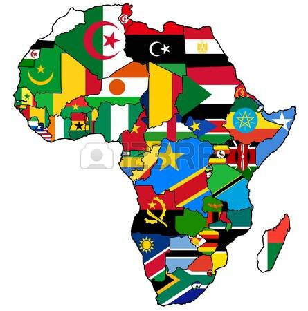 20531731-african-union-on-actual-vintage-political-map-of-africa-with-flags