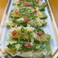 Mini courgettes au parmesan