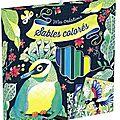 Sables colorés, oiseaux de paradis (editions gründ)
