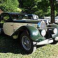 Bugatti type 57 coach ventoux 1938