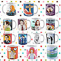 ☕️🌳 Examples of my mugs on Redbubble( x Files cat unicorn social media) 🌴