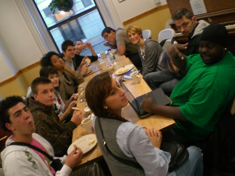 Dimanche 26 octobre - First breakfast