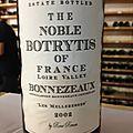 Les Melleresses 2002 - The Noble <b>Botrytis</b> of France - Bonnezeaux rouge - René Renou - Dégustation caviste