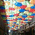 Ombrelles de lumière à saint-chamond