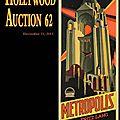 Enchères Hollywood Auction 62