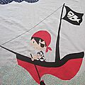 Couverture pour mini-pirate !!