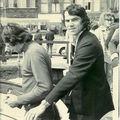 Voyage en Hollande, 1971, les cheveux poussent !