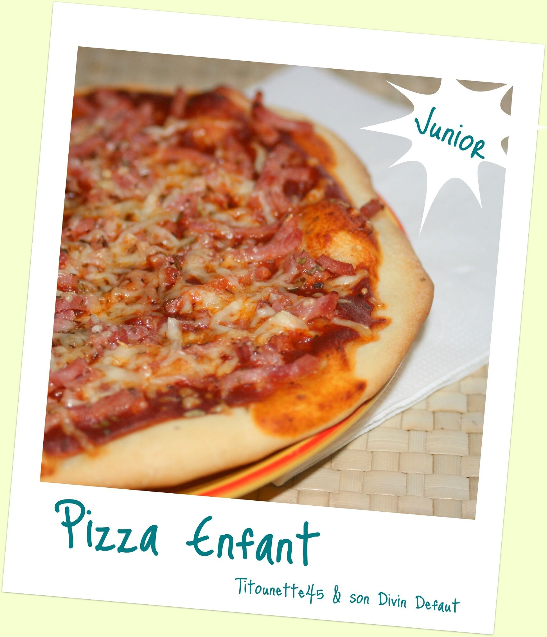 Pizza enfant