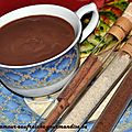Chocolat chaud épais - la recette !