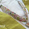 Collier Liberty Fairford anis