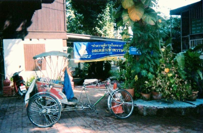 Chiang Maï Cyclo pousse
