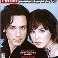 Paris match 2/03/2003