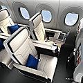 Breeze <b>Airways</b> dévoile son choix de siège pour ses Airbus A220