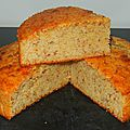 Gâteau amande noisette (sans beurre, sans huile)
