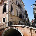1 des 400 ponts de Venise...