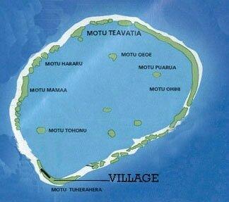 Le village de Tuherahera