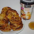 Petits gâteaux (pommes,caramel)de chez Charles et Alice ..