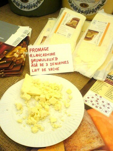 encore du fromage anglais