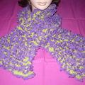 Echarpe froufrou Iris