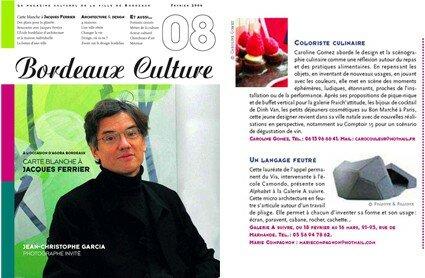 bordeaux culture n°8 mars 2005