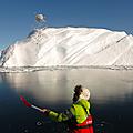Glaciar Jakobshavn al ladito de Ilulissat =)