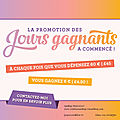 Les jours gagnants stampin Up