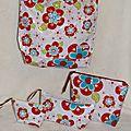 Ensemble coordonné sac et accessoires