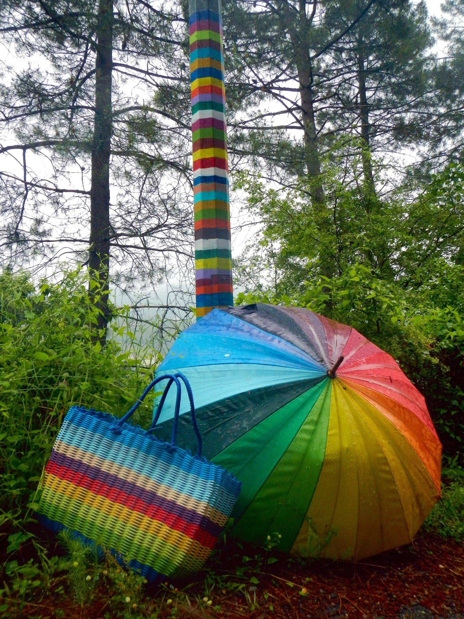 couleurs sous la pluie yurtao