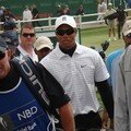 tiger woods arrive