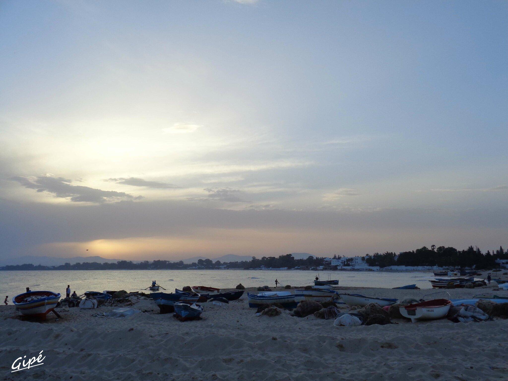 Le coucher de soleil du mercredi 2 juillet 2014
