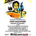 Jann halexander concert 27 septembre 2013 au magique - paris