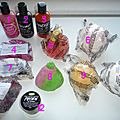 Commande lush uk - noel 2012