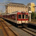 近鉄6020系(6055F) Kawachi-Matsubara station, Minami Ôsaka line.