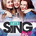 Let's Sing 2019 : un <b>jeu</b> pour une soirée karaoké en famille