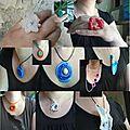 Les bijoux récup de pia pia pia, en plastique fondu !