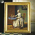 <b>Jean</b>-<b>Etienne</b> <b>Liotard</b> (Geneva 1702- 1789), A Dutch girl at breakfast
