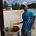 turquie : vendeur de mais au sommet