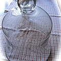 grande cloche en verre