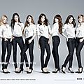 GIRLS GENERATION PHOTOSHOOT POUR G-STAR RAW