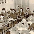 Collège louis Pasteur 1959 <b>classe</b> de 5 eme