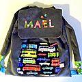 Le sac à dos de Maël