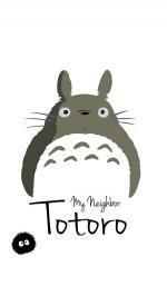 My-Neighbor-Totoro-Art-Minimal-iphone-8-wallpaper-ilikewallpaper_com