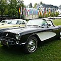 CHEVROLET Corvette C1 2door convertible 1957 Baden Baden (1)