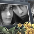 Tifa & Vincent (cadre photo)