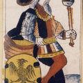 17- Tarot Noblet, Paris ca 1650 - source : tarot-history.com/Hist