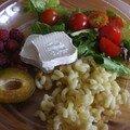 Assiette variée, repas ludique et rapide