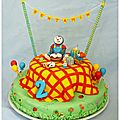 Gâteau T'choupi et Doudou