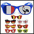 Coupe du monde de la fifa brésil 2014 - lunettes de supporter - objetrama